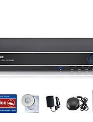 SANNCE® 8CH 960H DVR  Multi-mode Input W/ eCloud HDMI 1080P/VGA/BNC Output-Real Time Remote View QR Code Scan P2P