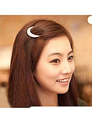 più nuovi cristallo luna strass accessori dei capelli per le donne, fermagli per capelli per le ragazze copricapo tornante morsetti hb144