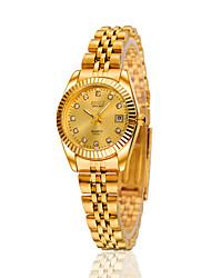 preiswerte -Damen Modeuhr Automatikaufzug Legierung Band Silber / Gold / Rotgold Marke-