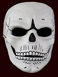 cheap -Other Ghost Monster Mask Men's Women's Halloween Festival / Holiday Halloween Costumes Black/White Print
