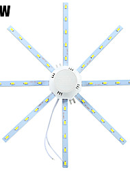 LED Ceiling Lights 40 SMD 5730 1600-1920 lm Cold White 6000-6500 K Decorative AC 220-240 V