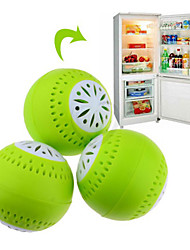 cheap -3pcs Set Fridge Ball Fruits Vegetable Fresh Odor Absorb Refrigerator