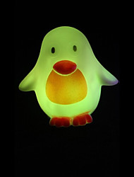 cheap -Creative Color-Changing Penguin Colorful LED Nightlight
