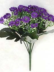 Недорогие -Филиал Шелк Пластик Орхидеи Букеты на стол Искусственные Цветы
