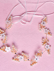 Women's / Flower Girl's Crystal / Imitation Pearl Headpiece-Wedding / Special Occasion Headbands 1 Piece