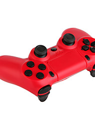 cheap -Double Shock Wired Controller for PS4/PC(Red/Blue)