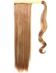 or 60cm synthétique haute température fil perruque cheveux raides couleur queue de cheval 12/613