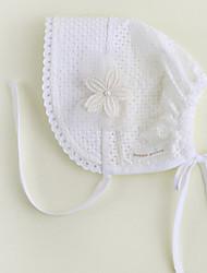 abordables -Chapeaux & Bonnets Toutes les Saisons Dentelle Bandanas Fille Garçon - Blanc Rose