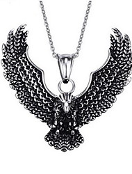 cheap -Men's Eagle Animal Personalized Punk Fashion Pendant Stainless Steel Pendant , Daily Casual