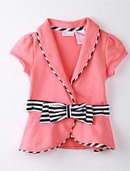 economico -Blusa Girl A strisce Cotone Primavera / Autunno Arancione