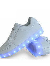 LED's Shoes Men's Shoes Outdoor / Athletic / Casual Synthetic Fashion Sneakers Black / White