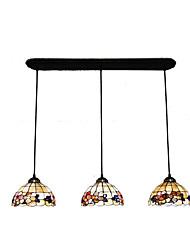 abordables -3 lumières Lampe suspendue Lumière dirigée vers le bas Autres Métal Coquille Style mini 110-120V / 220-240V Ampoule non incluse / E26 / E27