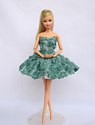 Movie/TV Theme Costumes Costumes For Barbie Doll Dresses For Girl's Doll Toy