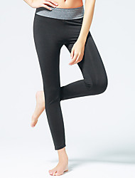 cheap -CONNY Women's Running Tights Gym Leggings Breathable Stretch Sweat-wicking Bottoms Yoga Pilates Exercise & Fitness Leisure Sports Cycling