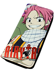 Bolsa Carteiras Inspirado por Fairy Tail Natsu Dragneel Anime Acessórios para Cosplay Carteira Couro PU Masculino Feminino