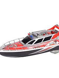 Недорогие -HT HengTai 2875F 1:10 RC лодка Бесколлекторный электромотор 4ch