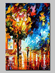 cheap -Large Hand Painted Modern Landscape Oil Painting On Canvas Wall Art Picture With Stretched Frame Ready To Hang