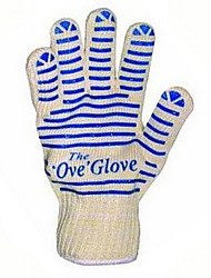 cheap -Antiskid Insulated Gloves The Ove Glove High Temperature Heat Resistant Gloves Microwave Oven Gloves