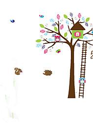 Animais / Desenho Animado / Romance / Formas / Fantasia Wall Stickers Autocolantes de Aviões para Parede,pvc 60*90cm