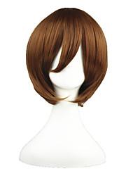 Parrucche Cosplay Vocaloid Yoshino Marrone Corto Anime Parrucche Cosplay 35 CM Tessuno resistente a calore Uomo / Donna