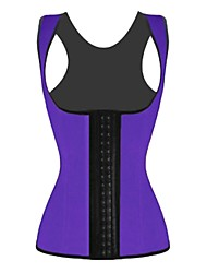 cheap -Women's Hook & Eye Plus Size Overbust Corset Underbust Corset-Solid