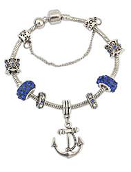 Da donna Bracciali a catena e maglie Bracciali con ciondoli Strass Lega Ispiratore Di tendenza Arcobaleno Gioielli 1 pezzo