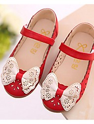 cheap -Girls' Shoes Dress Mary Jane Flats Pink / Red / White