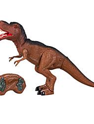Недорогие -Динозавр Экшен-фигурки Наборы для моделирования Пульт управления Оригинальные Электрический Специальная модель пластик Мальчики Девочки Игрушки Подарок