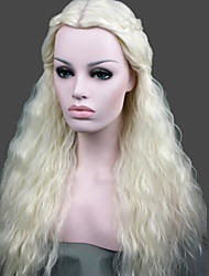 cheap -cosplay wig game of thrones daenerys inspired lady s fashion sexy party cosplay synthetic hair wig wigs Halloween