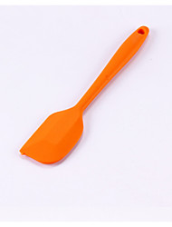 cheap -Random Color Small Size Silicone Scraper, Silicone Spatula for Cream, Butter, Chocolate