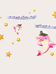 Animais / Desenho Animado / Música / Vida Imóvel / Moda / Lazer Wall Stickers Autocolantes de Aviões para Parede,PVC 70*50*0.1