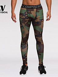 cheap -Men's Quick Dry, Lightweight Materials, Compression Leggings / Pants / Trousers / Bottoms Running M / L / XL