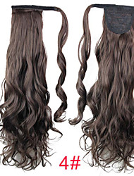 cheap -Clip In Ponytails Synthetic Hair Hair Piece Hair Extension Curly