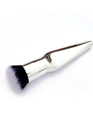 Best Deal New Good Quality Women Silver Makeup Brush Foundation Makeup Brushes Loose Powder Brush 1PC