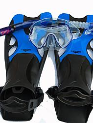 Maschera da mare Set per snorkeling Contenitori per immersioni Snorkels Pinne per immersione Maschere subacquee Valvola asciuttaSub e