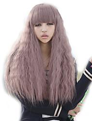 povoljno -Sintentička kosa perika Kovrčav Capless Kostim Wig