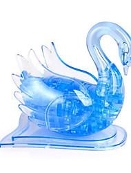 Недорогие -3D пазлы Пазлы Хрустальные пазлы Лебедь Музыка ABS Подарок