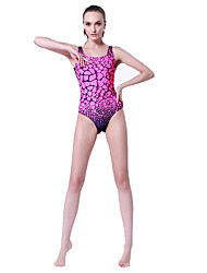 cheap -SBART® Women's Swimwear Stretch / Compression One Piece Adjustable Adjustable Pink Pink XL / XXL / XXXL