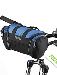 cheap -ROSWHEEL Bike Bag Bike Handlebar Bag Shoulder Bag Moistureproof/Moisture Permeability Waterproof Zipper Wearable Shockproof Bicycle Bag