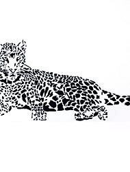 preiswerte -Dekorative Wand Sticker - Tier Wandaufkleber Tiere / Stillleben / Mode Wohnzimmer / Schlafzimmer / Esszimmer / Abziehbar