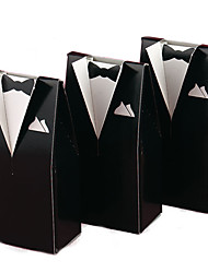 cheap -Creative Card Paper Favor Holder With Favor Boxes Favor Bags Gift Boxes Cookie Bags-12