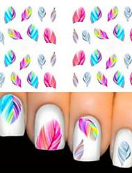 2 Neglekunst Klistermærke Negle Smykker Smuk Makeup Kosmetik Neglekunst Design
