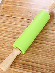 cheap -Rolling Pin & Pastry Board For Pie For Cookie For Cake For Bread Silicone High Quality