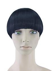 Недорогие -кудрявый вьющиеся черные человеческие волосы ткет шиньоны 4010