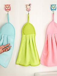 Style frais Essuie-mains,Solide Qualité supérieure 100% Molleton Serviette