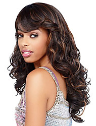 cheap -Women Synthetic Wig Long Curly Brown Halloween Wig Carnival Wig Costume Wig