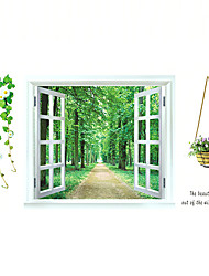 Botanisch / Stillleben / Mode / Blumen / Landschaft / Freizeit Wand-Sticker Flugzeug-Wand StickerDekorative Wand Sticker / Hochzeits