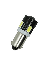 cheap -2X White Side Tail Light T4W 5730 6SMD BA9S Projector LED Car Bulb Lamp Interior