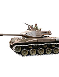 Недорогие -танк 1:16 Машинка на радиоуправлении Готов к использованиютанк Пульт управления/Передатчик Зарядное устройство Инструкция Батарея для