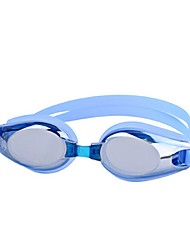 economico -Occhialini da nuoto Antinebbia Infrangibile Ompermeabile Resina PC Grigio Nero Blu Rosa chiaro N/D